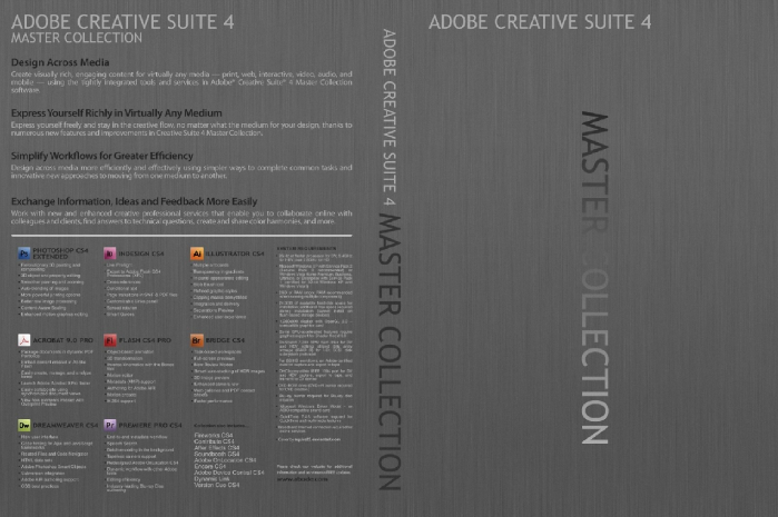 how to download adobe creative suite master collection cs4