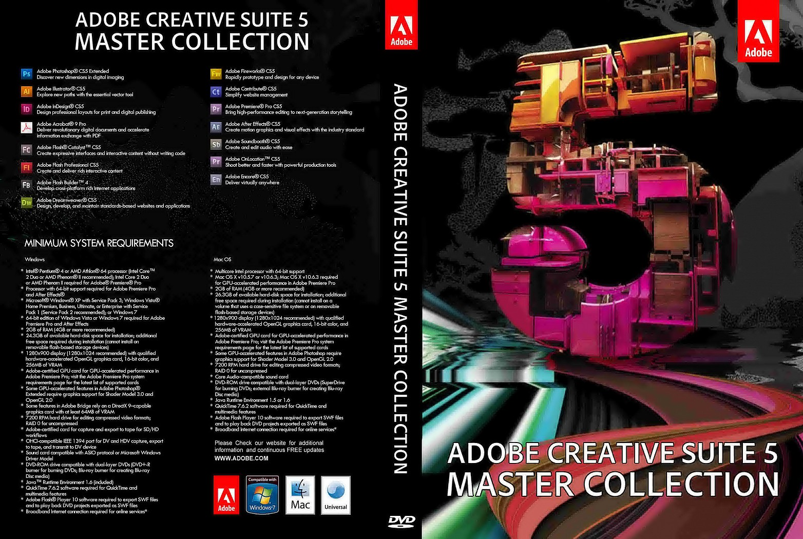 Adobe Master Collection CS6 Final + Patch [GD] | YASIR