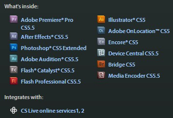 Adobe CS Production Premium - Download
