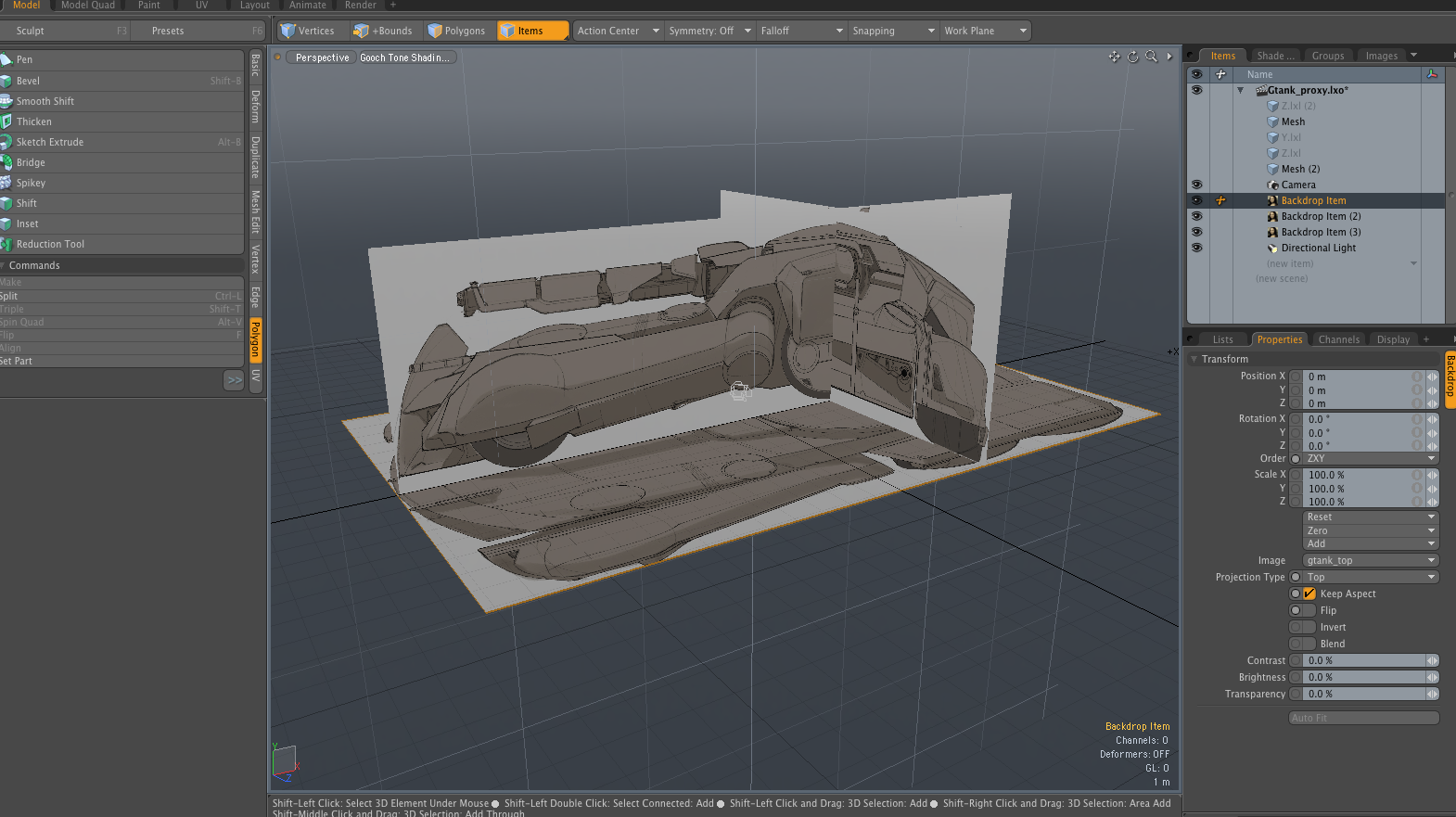 Features of Modo