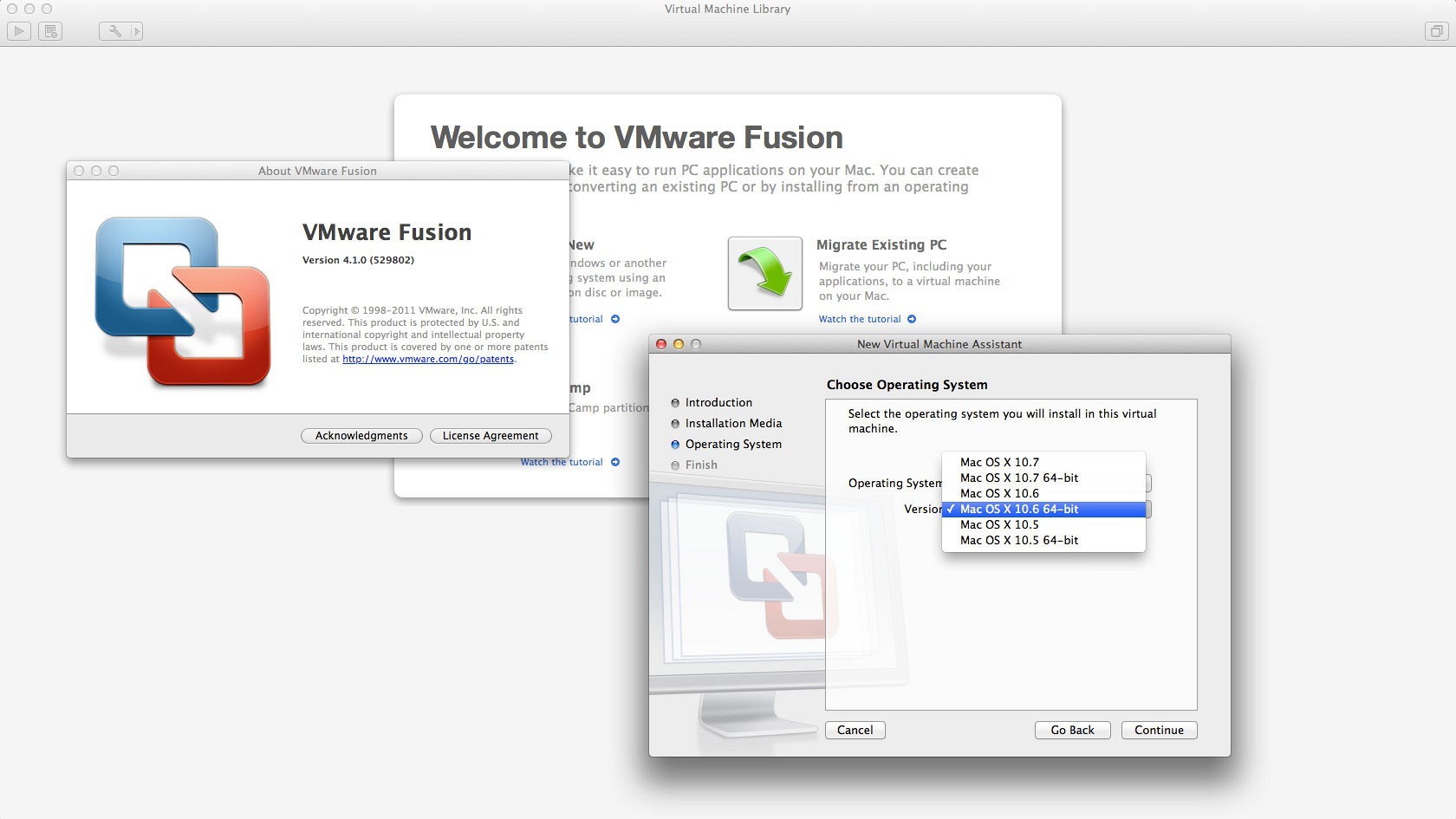 how to buy Vmware 10 on mac?