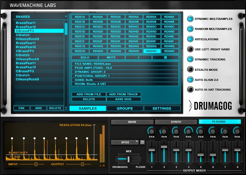 Wavemachine labs drumagog platinum vst rtas v5 0 2 cracked