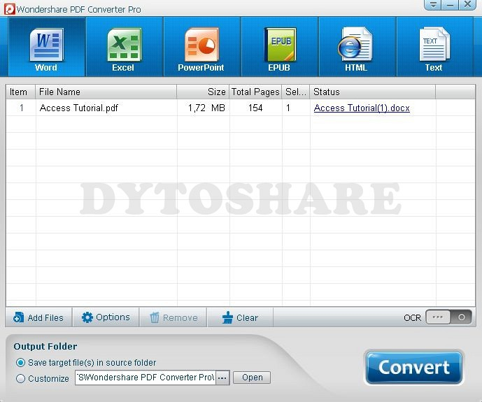 Purchase Wondershare DVD Slideshow Builder Deluxe to instantly convert photos and videos to photo slideshow DVD for playback on TV, DVD player, YouTube.