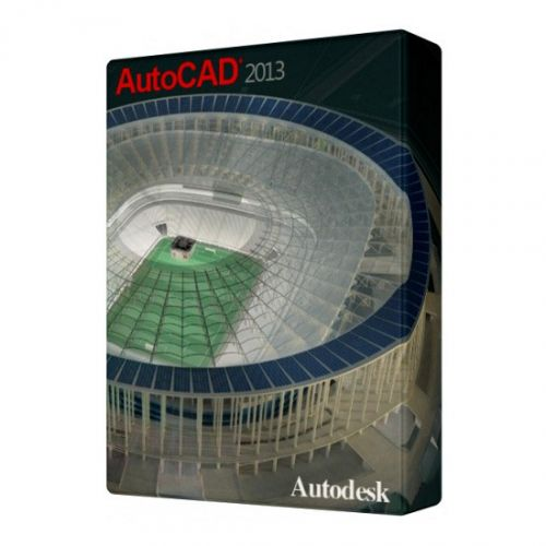 Autodesk AutoCAD 2013 for macOS box