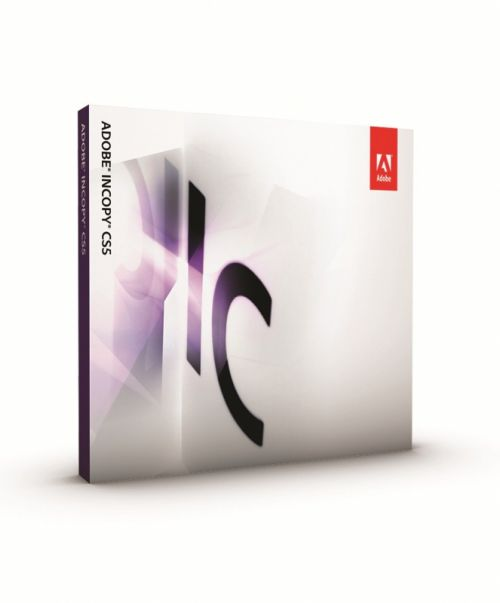 Adobe InCopy CS5.5 7.5 box