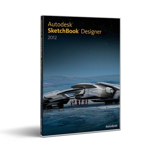 Autodesk Sketchbook Designer 2012 box