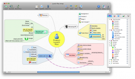 Mindjet MindManager 9.0 for Mac screenshot