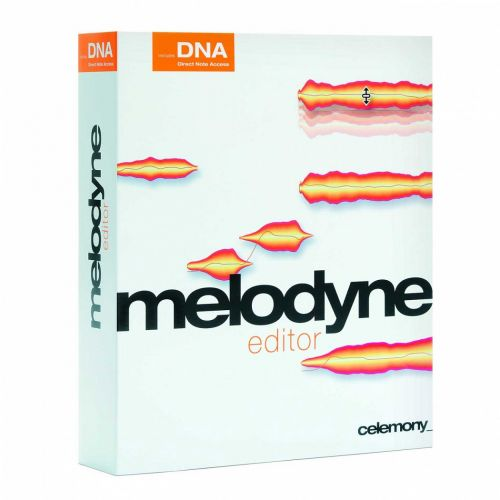 Celemony Melodyne Editor 2.1.2.2 APP AU VST VST3 RTAS for Mac box