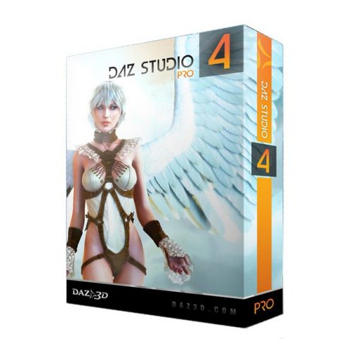 DAZ3D Studio 4.0.0.335 box