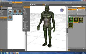 DAZ3D Studio 4 screenshot