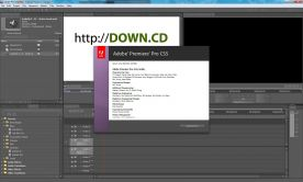 Adobe Premiere Pro CS5 5.0 about window