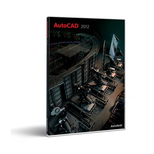 Autodesk AutoCAD 2012 Multilanguage 64-bit box