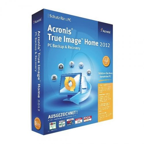 Acronis True Image Home 2012 Plus Pack box