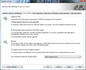 O&O Diskimage Workstation 6.0 screenshot