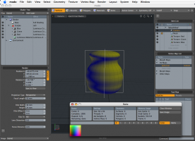Luxology Modo 501 with SP5 screenshot