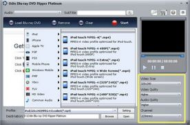 OdinShare Blu-ray DVD Ripper Platinum 6.6 screenshot