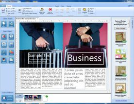 Broderbund Print Shop Deluxe 23.1 screenshot