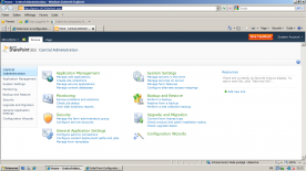 Microsoft Sharepoint Server 2010 with SP1 Standard and Enterprise Editions screenshot