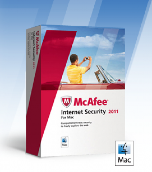 McAfee Security 1.1 for macOS box