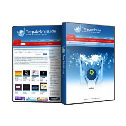 Template Monster Web-Site Templates Mega pack for Windows for macOS box