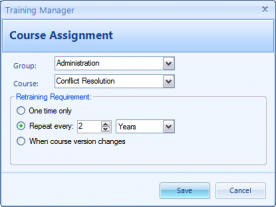 Kaizen Software Training Manager 2012 Enterprise 1.0 screenshot