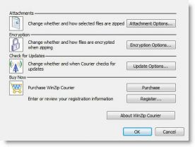 WinZip Courier 3.5 screenshot