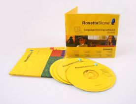 Rosetta Stone 3.4.5 for Mac for Windows dvd