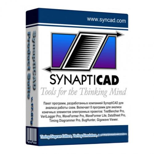 SynaptiCAD Product Suitea 19.01 box