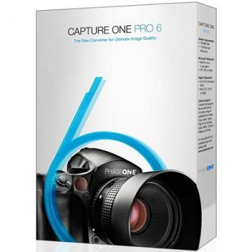 Phase One Capture One PRO 6.4.3.58953 box
