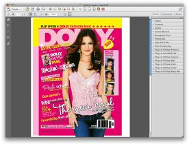 Adobe Acrobat Pro X 10.0 for Mac screenshot