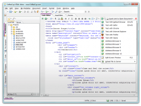 CoffeeCup HTML Editor 12 screenshot