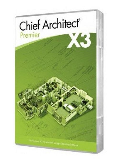 Chief Architect Premier X3 13.4.2.7 box