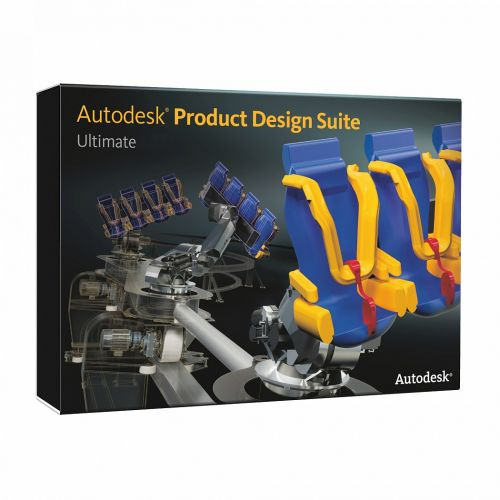 Autodesk Product Design Suite Ultimate 2014 64-bit box