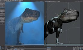 NewTek LightWave 3D 11 screenshot