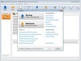 Backup4all Pro 4.6 screenshot