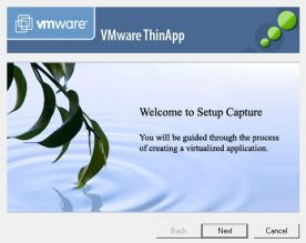 VMware Thinapp 4.7 screenshot