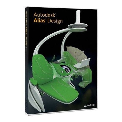 Autodesk Alias Design 2016 64-bit box