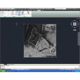 Autodesk AutoCAD Raster Design 2012 screenshot