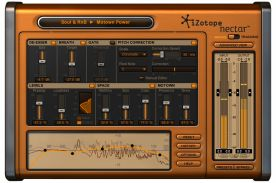 iZotope Nectar 1.12 VST RTAS screenshot