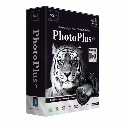 Serif PhotoPlus X7 box