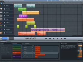 Magix Music Maker MX 18.0 screenshot
