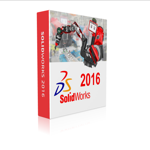 SolidWorks 2016 Premium with SP5 64-bit box