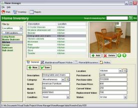 Kaizen Software Home Manager 2012 3.0 screenshot