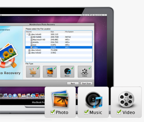 Wondershare Photo Recovery 3.1.0 for macOS box
