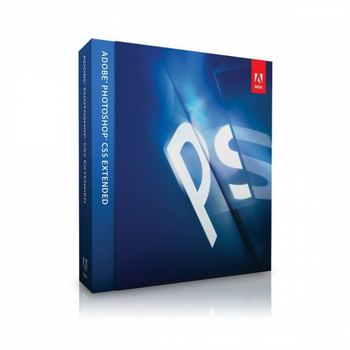 Adobe Photoshop CS5.1 Extended European 12.1 box