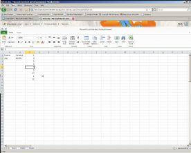 Microsoft Office Web Apps 2010 screenshot