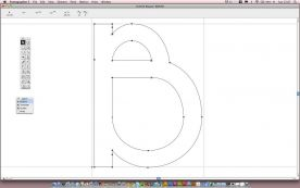 FontLab Fontographer 5.1 screenshot