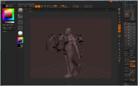 Pixologic ZBrush 4R2 for Mac screenshot
