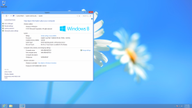 Microsoft Windows 8 Professional x86 32-bit screenshot