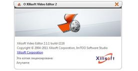 Xilisoft Video Editor 2.1 screenshot
